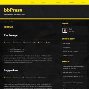 bbPress Forums Listing