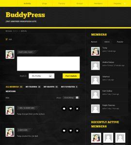 BuddyPress Activity Page