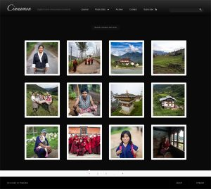 Optional image archive template