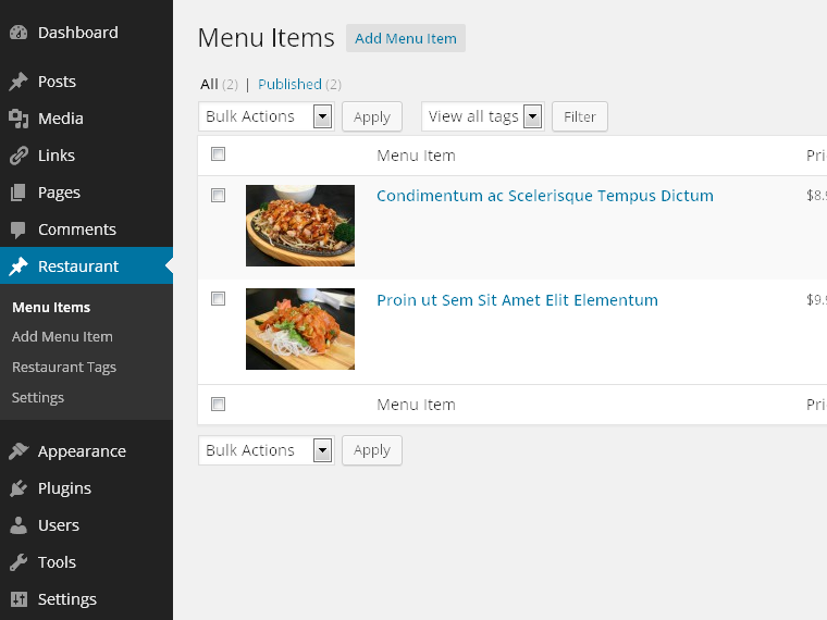 restaurant-plugin